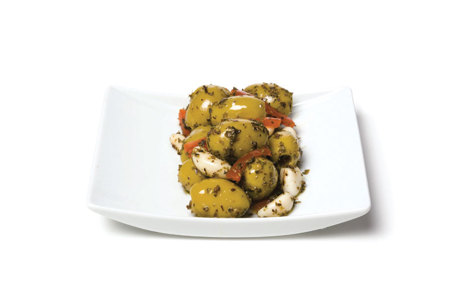 sithonia salad green olives pitted