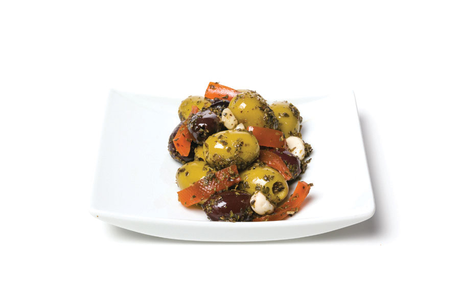 athos salad kalamata pitted green olives pitted